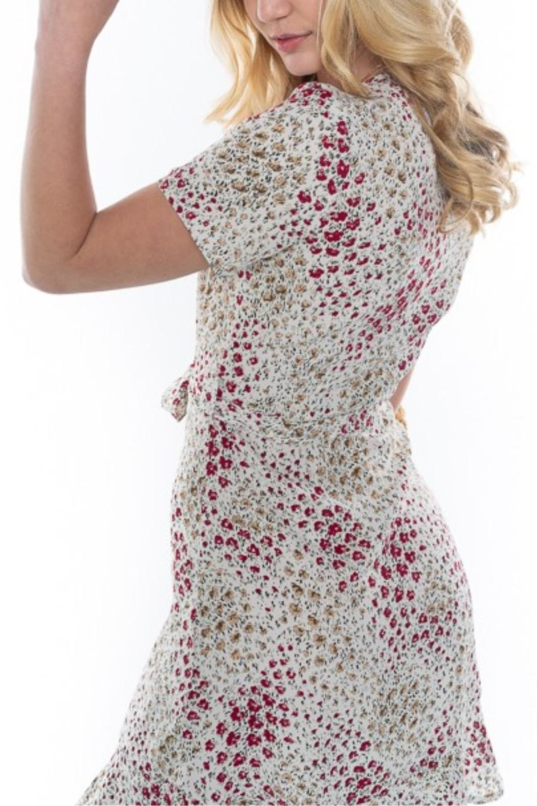 rokoko Button-Up Floral Dress - Back Cropped Image