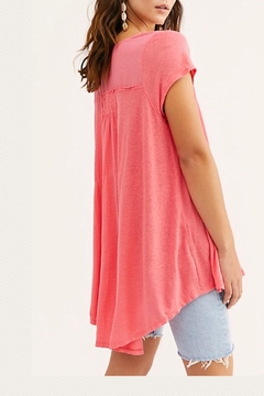 Free People Button-Up Flowy Tee - Alternate List Image