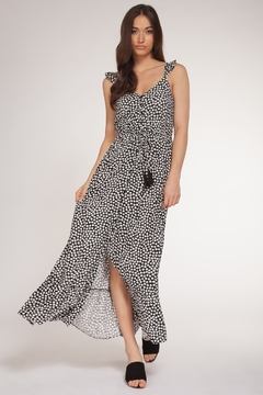 Dex Button Up Front Maxi Dress - Product List Image