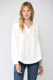 Fate Inc. Button Up Gauze Pullover Shirt - Product Mini Image