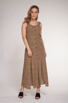 Dex Animal Dot Print Maxi - Product List Image