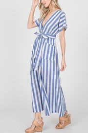 Lyn -Maree's Button Up Stripe Maxi - Product Mini Image