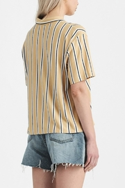 Double Zero Button Up Top - Front full body