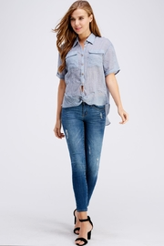 Favlux Button Up Top - Front full body