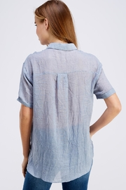 Favlux Button Up Top - Back cropped