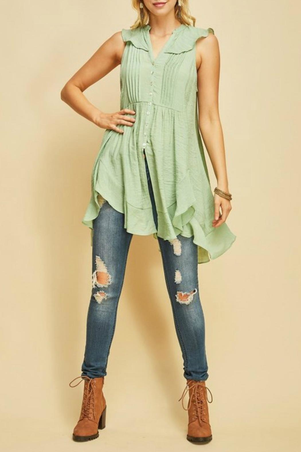 MHGS Button Up Tunic - Main Image