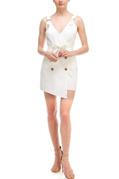 Shoptiques Product: Button Wrap Dress