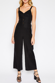Sadie and Sage Buttoned Jumpsuit - Product Mini Image