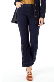 Liverpool  Buttoned kick flare jeans - Product Mini Image