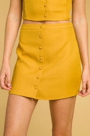 Pretty Little Things Buttoned Tailored Skirt - Product Mini Image