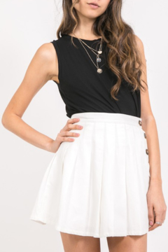 Abeauty by BNB Buttoned Tennis Skirt - Product List Image