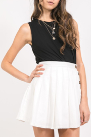 Abeauty by BNB Buttoned Tennis Skirt - Product Mini Image