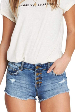 Billabong Buttoned Up Denim Short - Product List Image