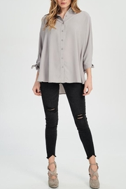 Wishlist Buttonfront Crepe Blouse - Product Mini Image