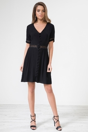Urban Touch Buttonfront Lacedetailed Dress - Product Mini Image