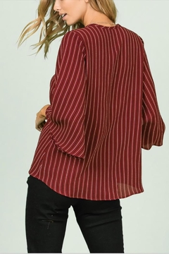 Ces Femme Buttonup Tie Top - Alternate List Image