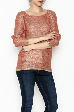 Shoptiques Product: Autumn Sunset Sparkle Sweater