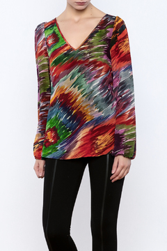 By Smith Watercolor Monet Blouse - Product List Image