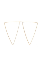 By Boe Oversized Teardrop Hoops - Product Mini Image