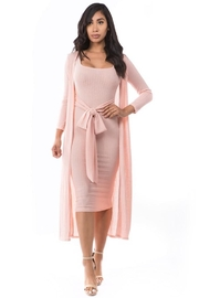 By Claude Knit Dress Set - Front cropped