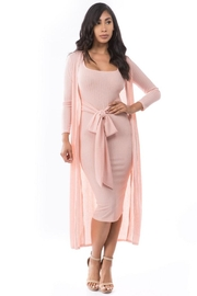 By Claude Knit Dress Set - Front full body
