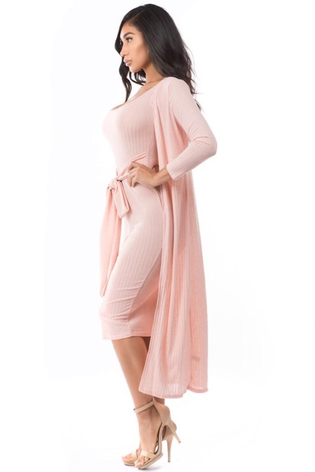 By Claude Knit Dress Set - Side Cropped Image