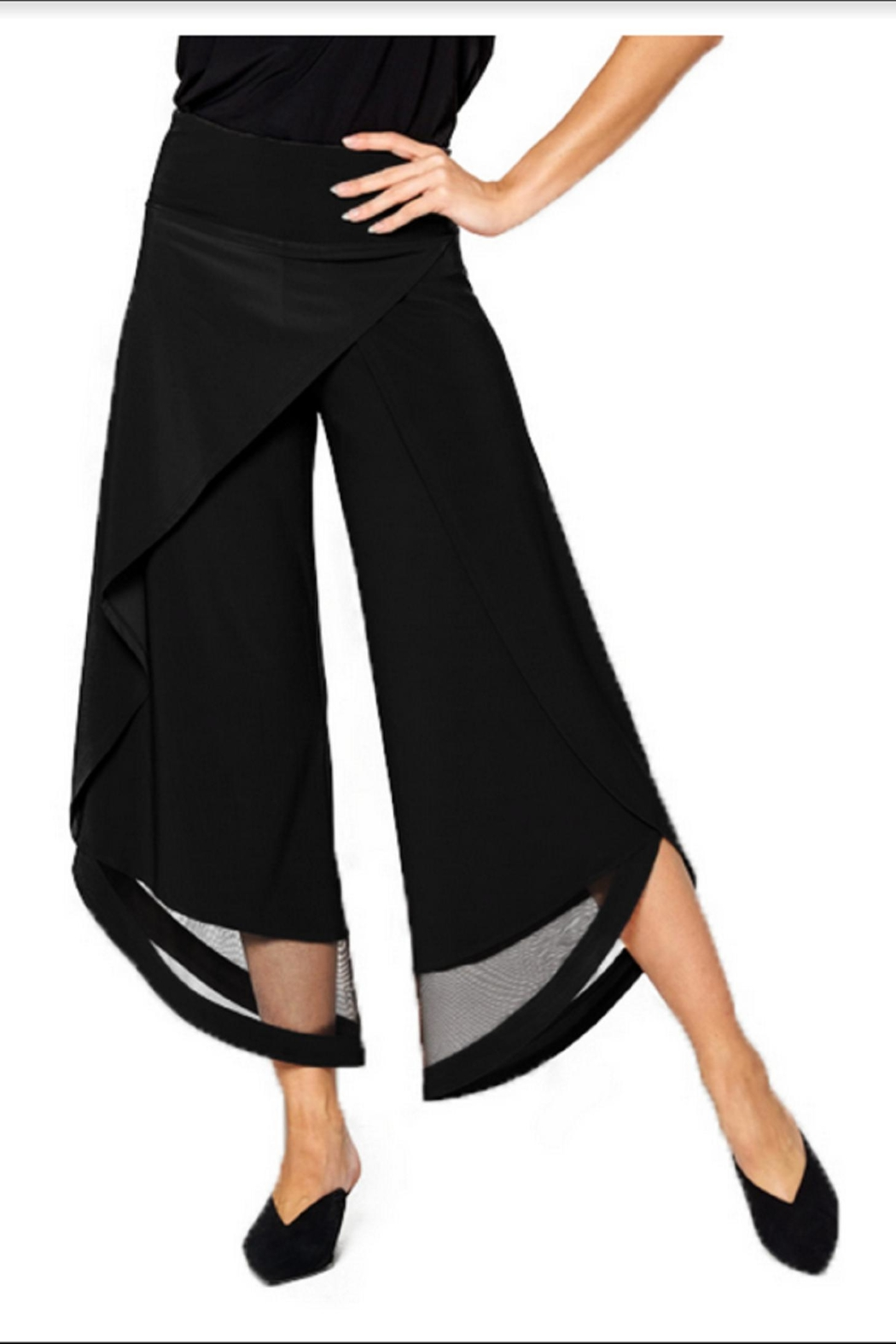 BY JJ Flood Wrap Pant With Mesh Cutout - Main Image