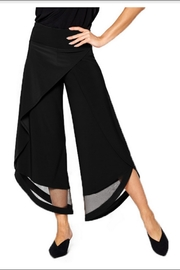 BY JJ Flood Wrap Pant With Mesh Cutout - Product Mini Image