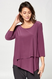BY JJ Round Neck Layered Top - Product Mini Image