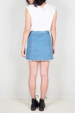BY L Button Front Skirt - Alternate List Image