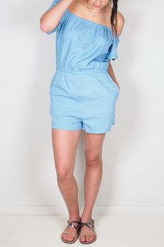 Shoptiques Product: Denim Playsuit