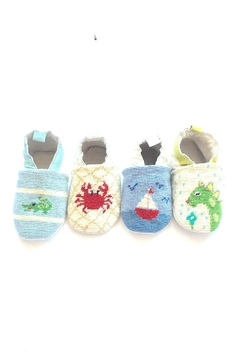Shoptiques Product: Crab Needlepoint Bootie