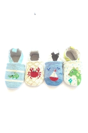 By Paige Crab Needlepoint Bootie - Product Mini Image