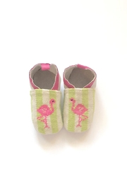 By Paige Flamingo Needlepoint Bootie - Product Mini Image