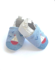 By Paige Sailboat Needlepoint Bootie - Product Mini Image