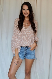 By Together Annabelle Spotted Top - Front cropped