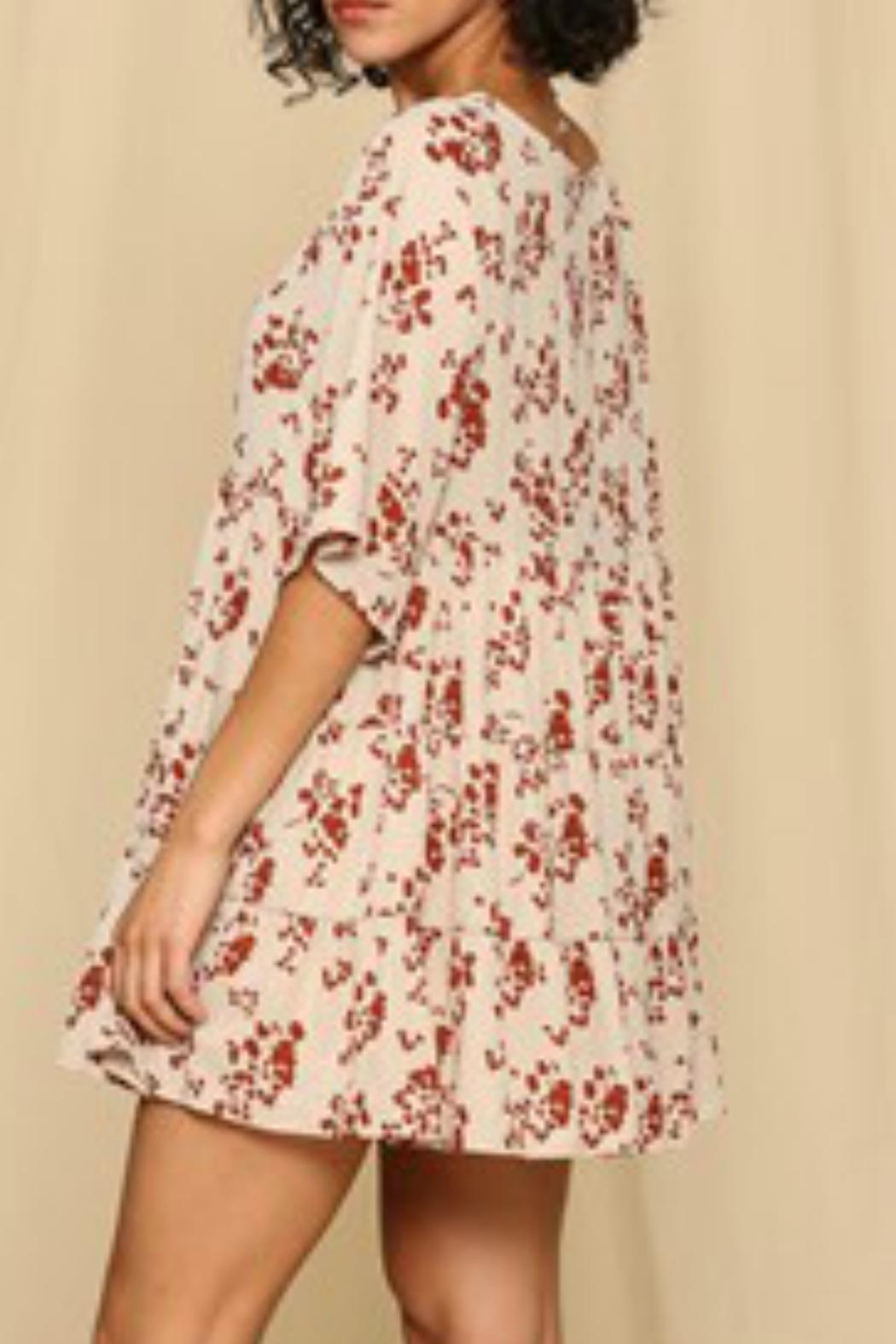 By Together Baby Doll Dress - Side Cropped Image