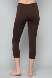 By Together Black Cropped Legging - Front full body