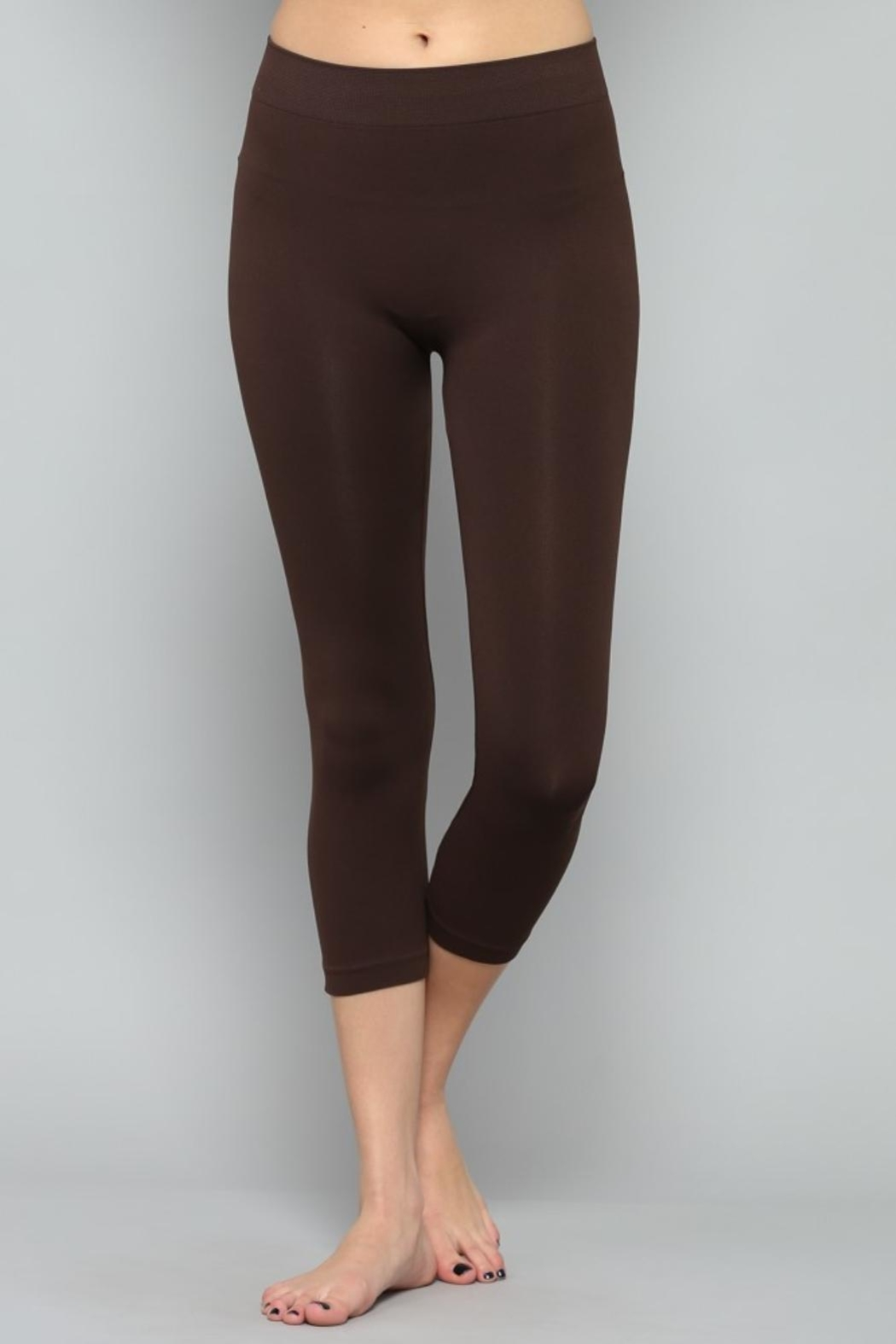 By Together Black Cropped Legging - Main Image