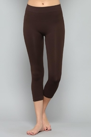 By Together Black Cropped Legging - Product Mini Image