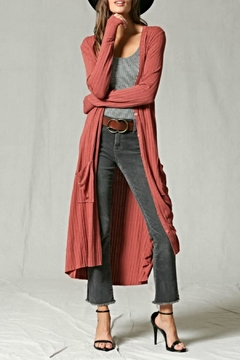 By Together Button-Down Maxi Duster - Product List Image