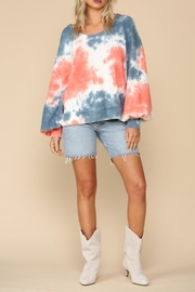 By Together Candy Tie-Dye Pullover - Product Mini Image