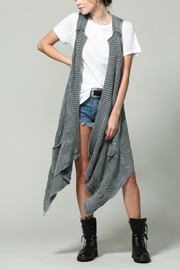 By Together Cardigan Vest - Front cropped