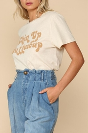 By Together Chin-Up Buttercup Tee - Front full body