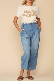 By Together Chin-Up Buttercup Tee - Front cropped