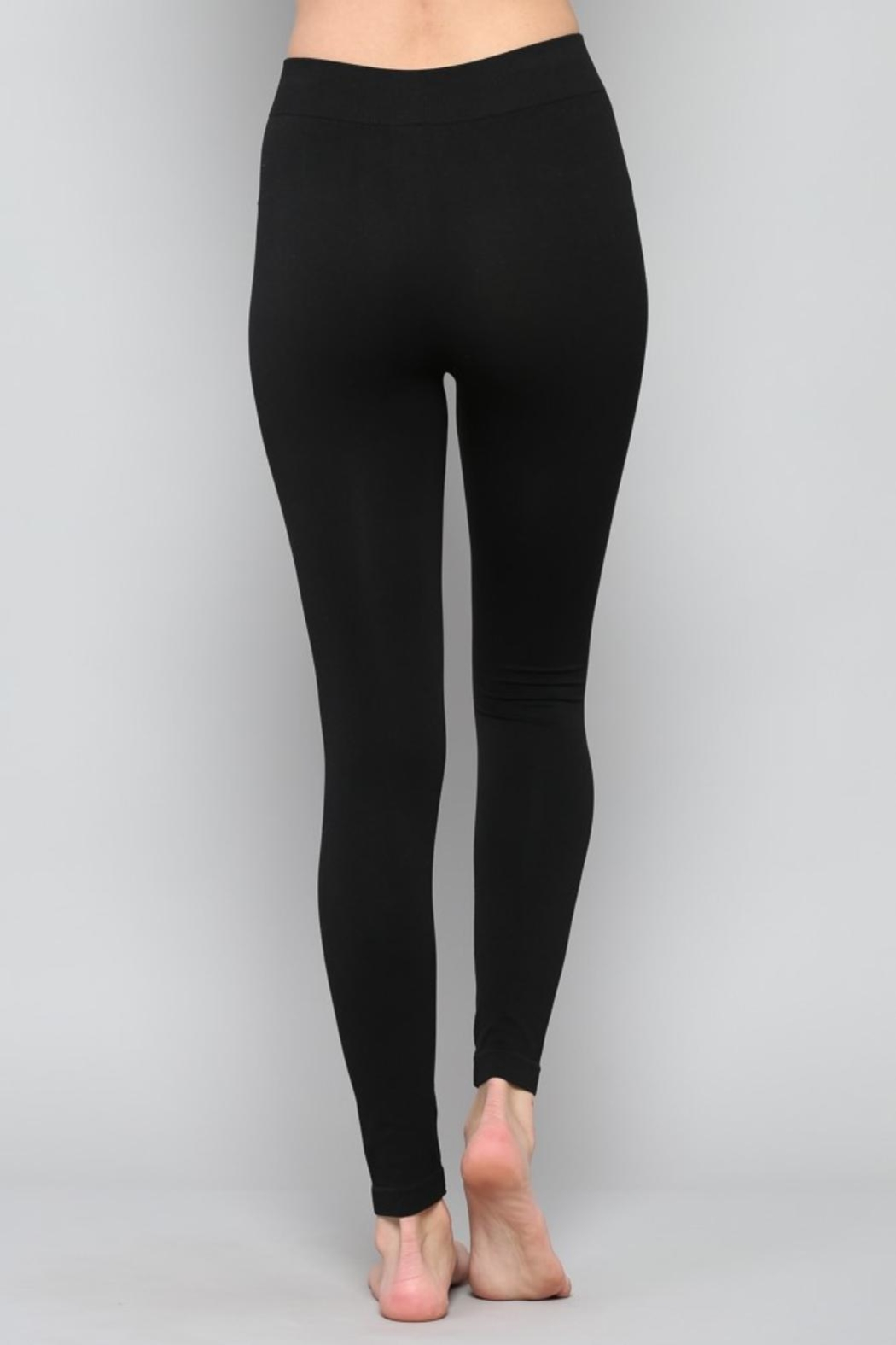 By Together Classic Black Legging - Front Full Image
