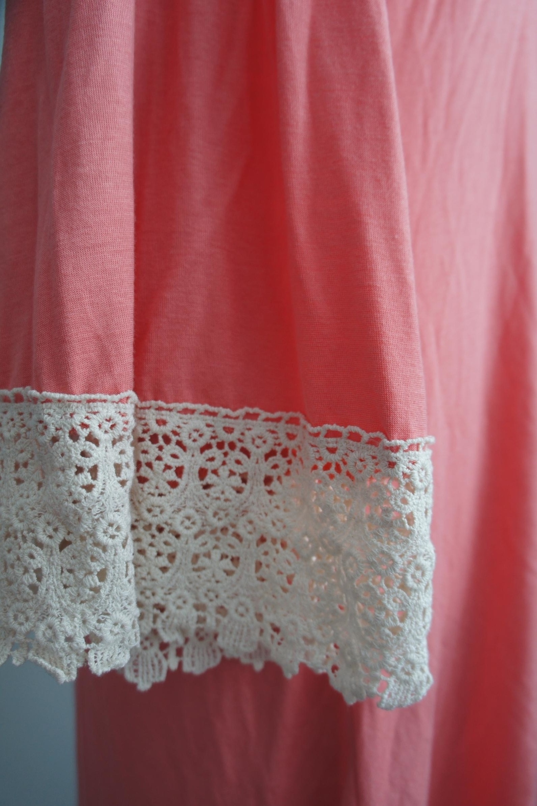 By Together Crochet-Lace Accent Dress - Back Cropped Image