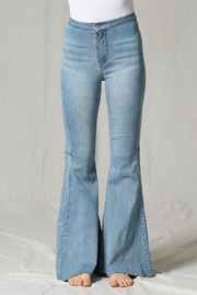 By Together Cut-Edge Flare Jeans - Product Mini Image