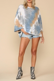 By Together Dusk Tie-Dye Top - Product Mini Image