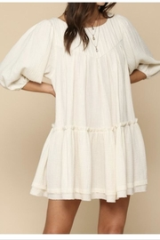 By Together Ivory Boho Dress - Product Mini Image